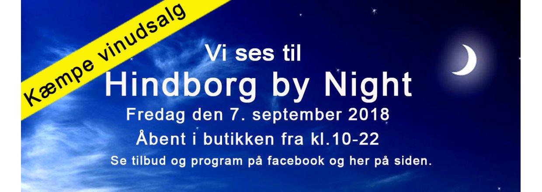Hindborg By Night 7. sep. 2018 fra 10-22