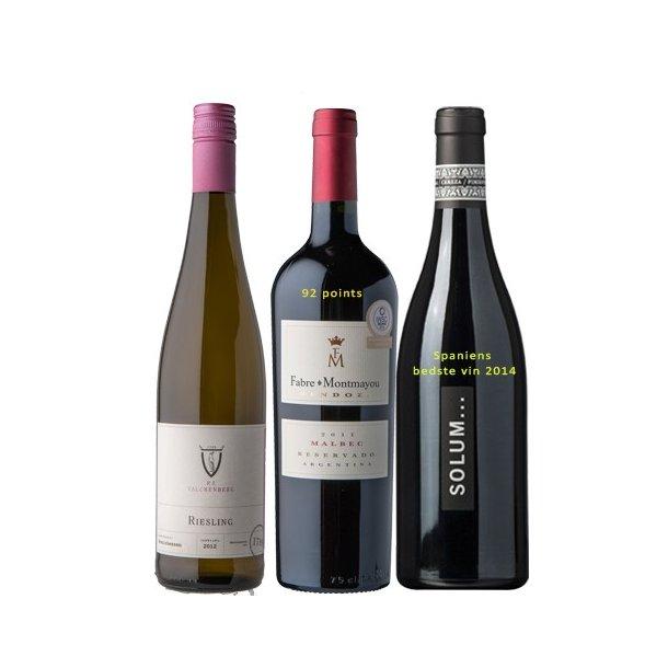 Fredagskassen med Spaniens bedste vin 2014