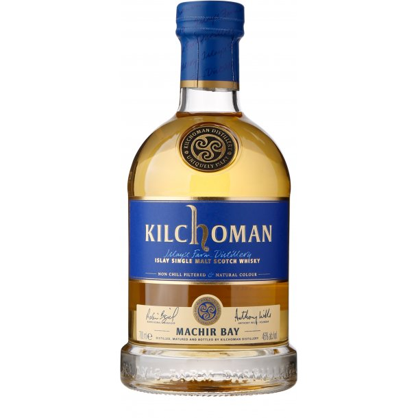 Kilchoman Machir Bay, 46%, Islay (Bourbon-fade)