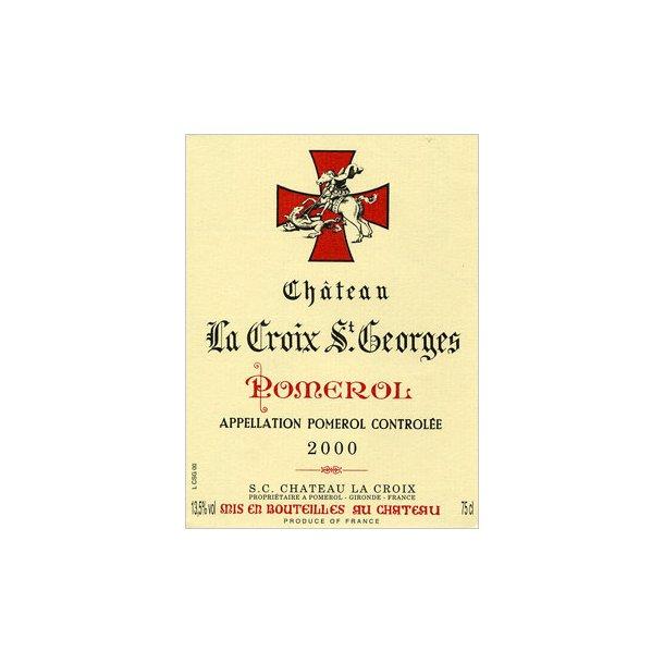 2000 Château La Croix S. Georges