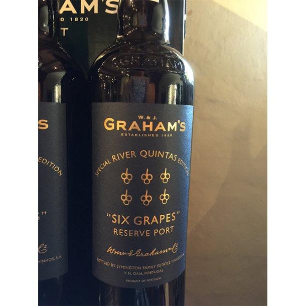 Grahams Six Grapes Reserve Port, Special River Quintas Edition
